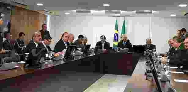 Temer se reúne com o governador do Rio de Janeiro, Luiz Fernando Pezão (PMDB-RJ) - Divulgação/Twitter/@LFPezao
