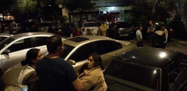 Mexicanos abandonaram construções após o tremor