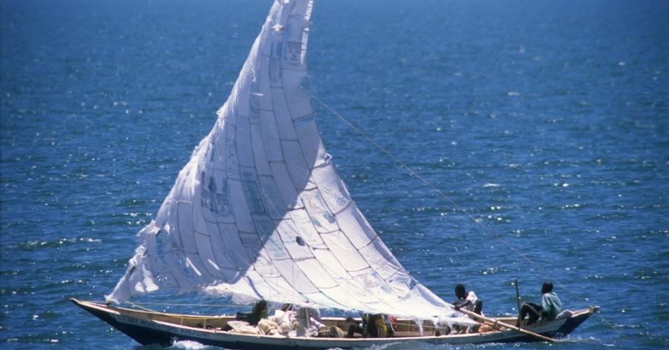 Lago Turkana, no Quênia