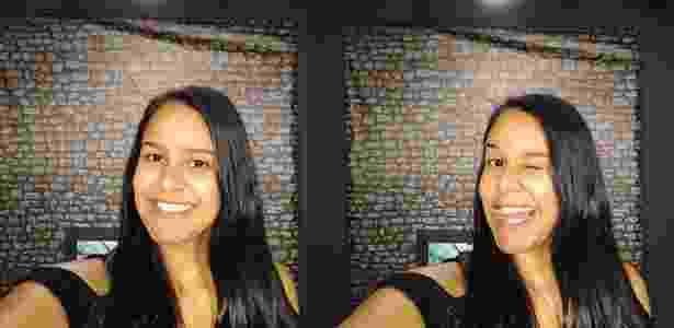 Moto X4 - selfie - UOL - UOL