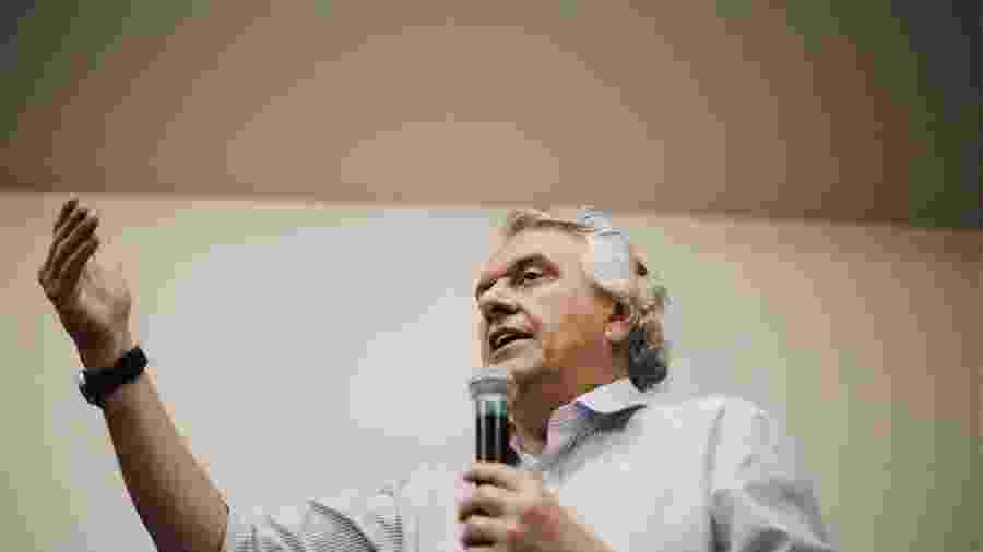 O governador de Goiás, Ronaldo Caiado (DEM), rompeu com Jair Bolsonaro na manhã de ontem - Ronaldo Caiado/Facebook/Divulgação