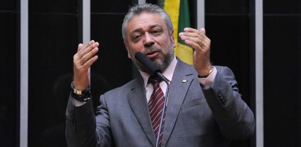 O deputado federal Laudívio Carvalho (PODE-MG), em foto registrada em junho de 2016 - Luís Macedo/Agência Câmara