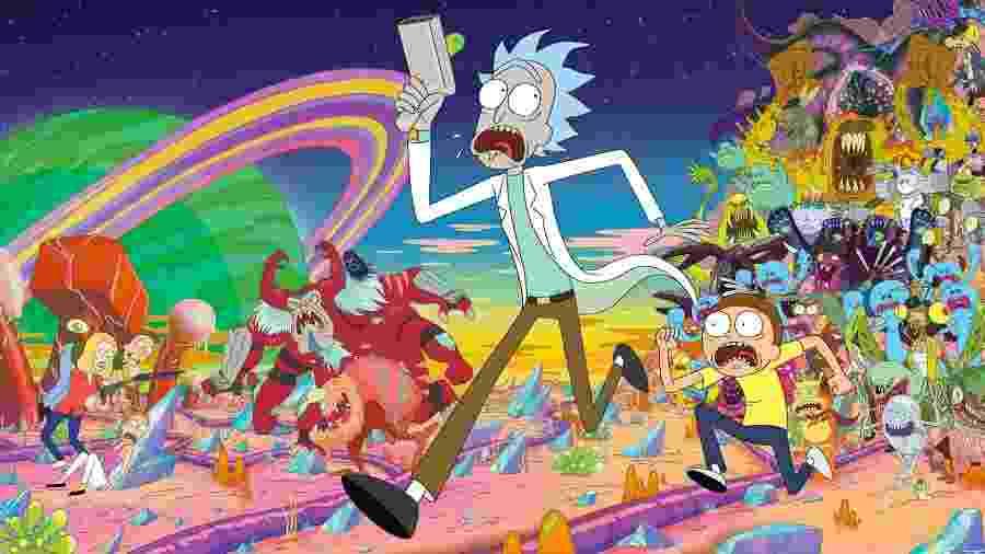 """""""Rick and Morty"""" - Divulgação"""