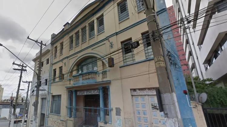 Antigo prédio da associação Lega Italica está entre os novos bens tombados em São Paulo Imagem: Google Street View/Reprodução.