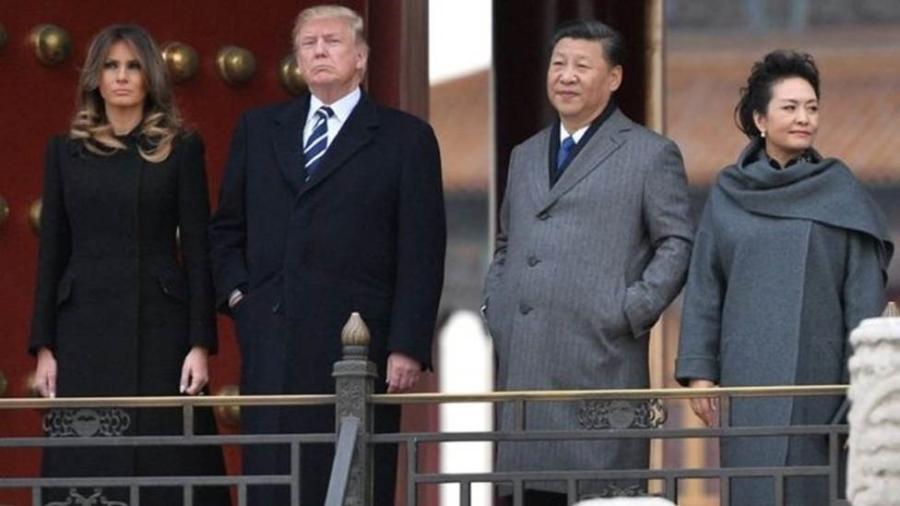 Como a soja americana ficou mais cara, com aumento de tarifas de importação, a China passou a importar mais grãos brasileiros. Mas a substituição não agradou o presidente americano - Jim Watson/AFP