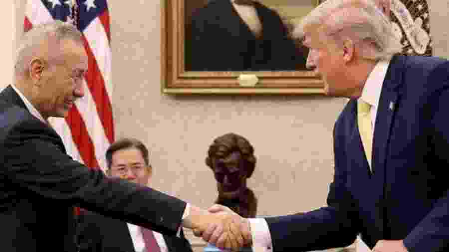 Estados Unidos e China buscam um acordo comercial - Getty Images