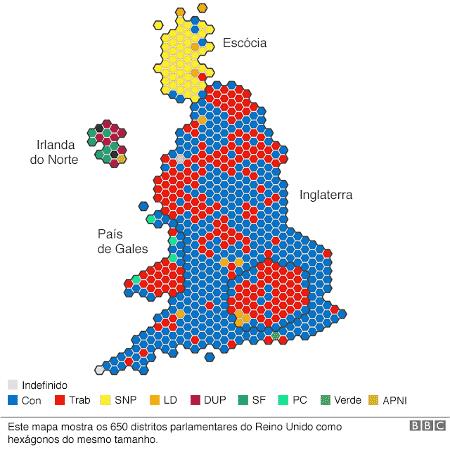 Eleições no Reino Unido 2019 - BBC - BBC