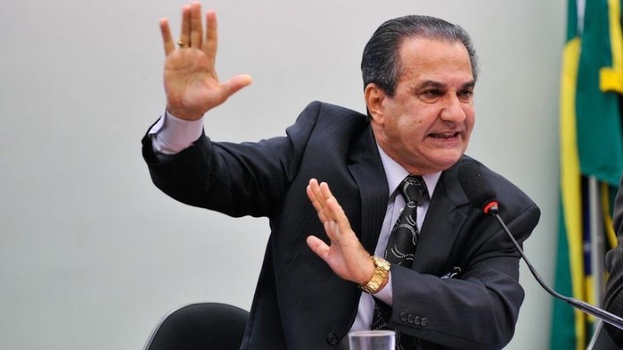 Imagem mostra o pastor Silas Malafaia durante audiência na Câmara - Agência Brasil