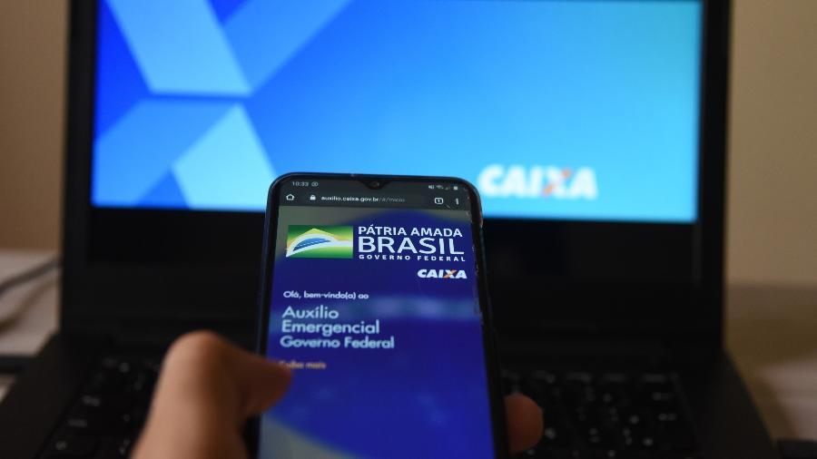 Aplicativo do Auxílio Emergencial - CAIO ROCHA/FRAMEPHOTO/FRAMEPHOTO/ESTADÃO CONTEÚDO
