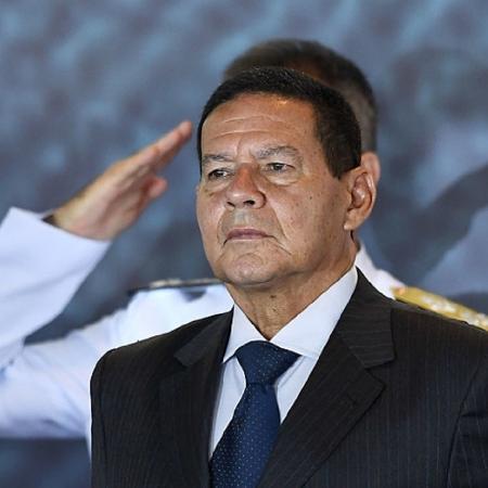 Hamilton Mourão, vice-presidente - Evaristo Só/AFP