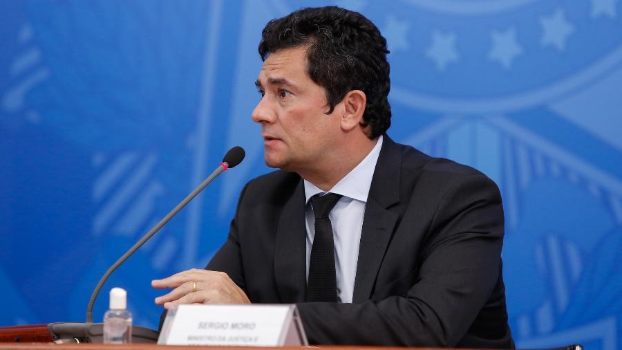 O ex-juiz federal e ex-ministro da Justiça, Sergio Moro, se tornou um dos rostos mais conhecidos da Lava Jato - Anderson Riedel/PR