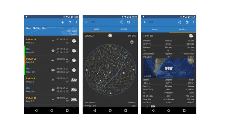 iss detector - baixe estes apps - Reprodução - Reprodução