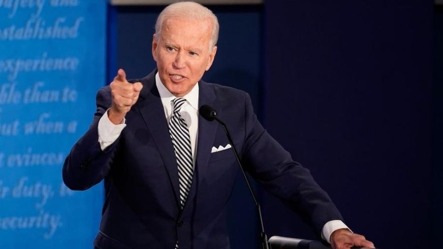 Em debate contra Trump, o candidato democrata Joe Biden criticou a política ambiental do Brasil - Getty Images