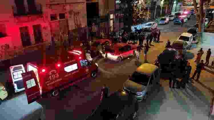 Uma mulher e um homem foram vítimas de bala perdida durante uma perseguição policial no Catumbi, Rio; ela morreu - Reprodução/Redes sociais - Reprodução/Redes sociais