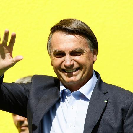 15.dez.2020 - O presidente Jair Bolsonaro (sem partido) durante visita técnica à Ceagesp, na zona oeste de São Paulo - Aloísio Maurício/Fotoarena/Estadão Conteúdo