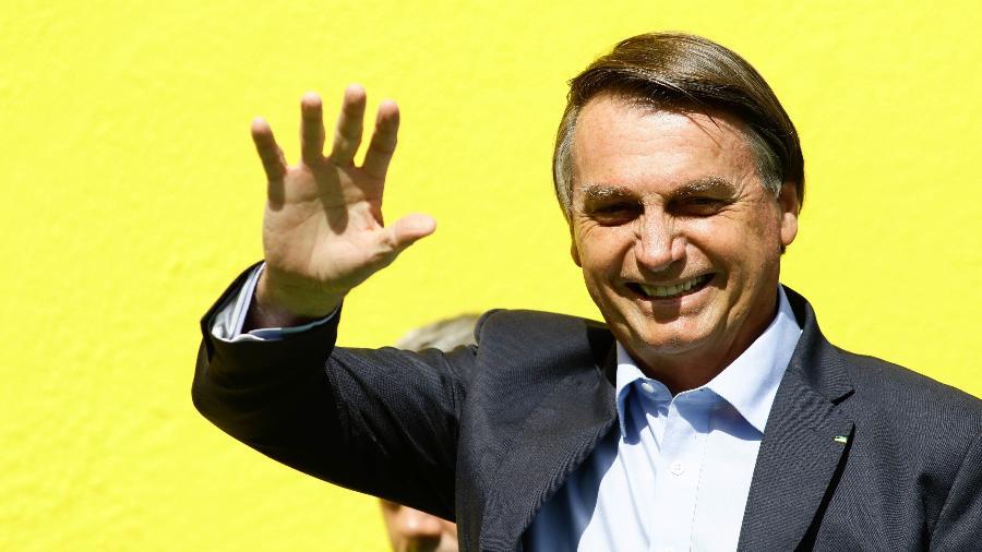 O presidente Jair Bolsonaro cogita entrar em novo partido depois de março - Aloísio Maurício/Fotoarena/Estadão Conteúdo