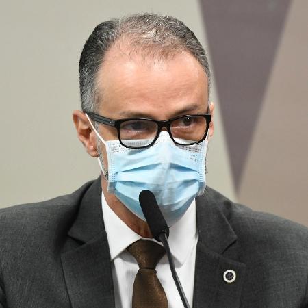 11.mai.2021 - Antonio Barra Torres, diretor-presidente da Anvisa - Jefferson Rudy/Agência Senado