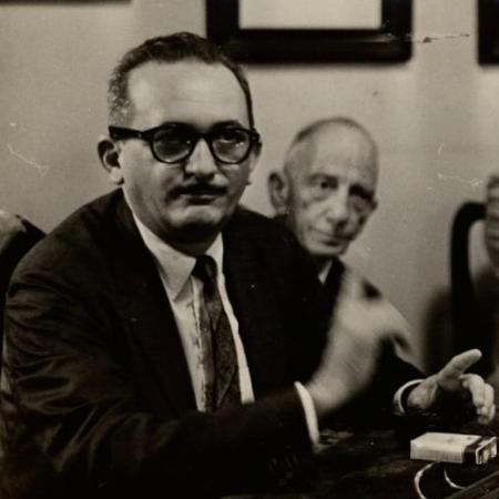 Paulo Freire em 1963, na UFPE  - Arquivo Nacional - Arquivo Nacional