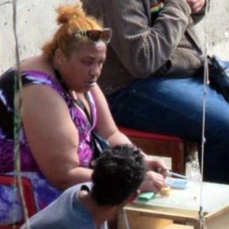 Mulher apontada pela polícia como a chefe do tráfico na Cracolândia, no centro de São Paulo - Reprodução