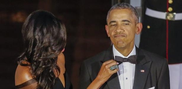 """""""Michelle e Sam, que já foi nosso chef aqui, estavam falando de mim uma noite dessas e tirando sarro sobre como sou disciplinado"""", contou"""