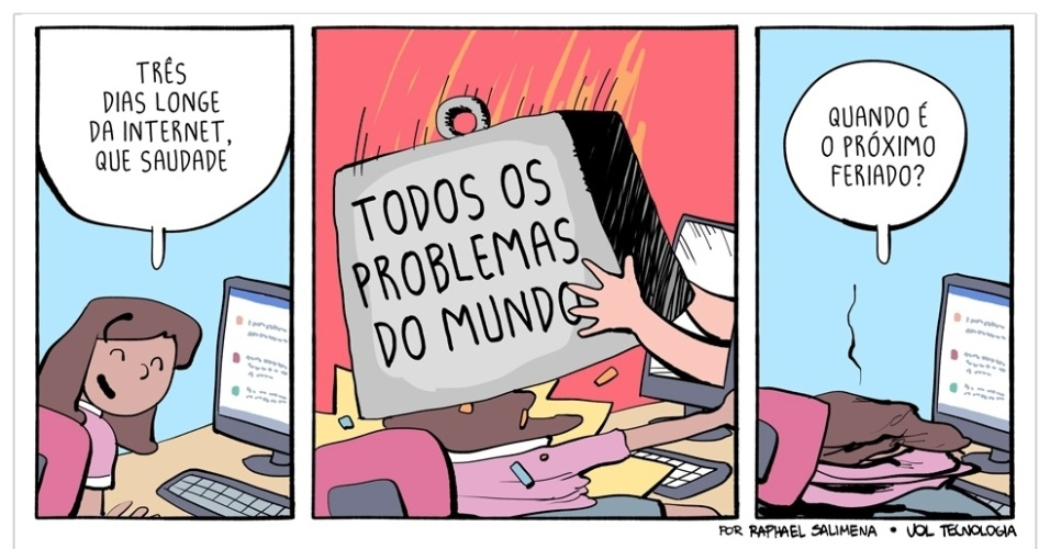 """12.dez.2015 - """"Todos os problemas do mundo"""""""