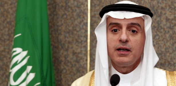 O ministro de Relações Exteriores da Arábia Saudita, Adel al-Jubeir, acusou Irã de tentar minhar a segurança de seu país