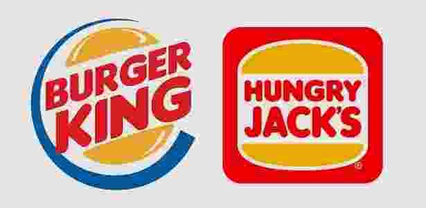 Burger King/Hungry Jack's - Montagem/Divulgação - Montagem/Divulgação
