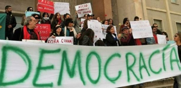 Brasileiros se manifestaram contra o impeachment da presidente - Mamede Filho/BBC