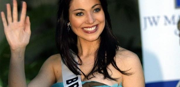 A miss Brasil 2004, Fabiane Niclotti, 31, encontrada morta em casa
