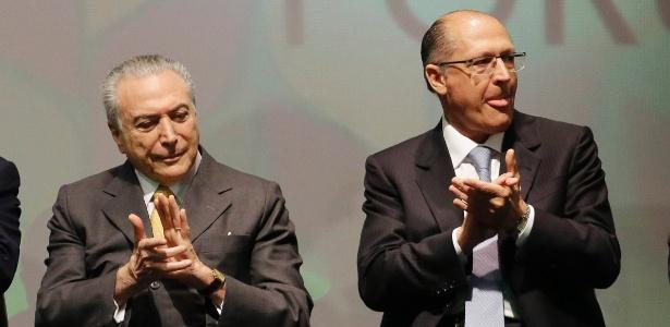 """Geraldo Alckmin refutou a possibilidade de afastamento do presidente Temer: """"Não tem cabimento"""""""