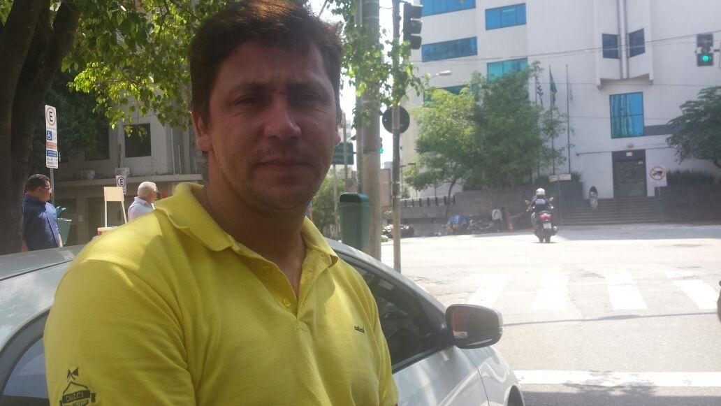 20.fev.2017 - Jonathan Gomes Bastos, 36, ex-motorista e hoje desempregado, é a testemunha do caso