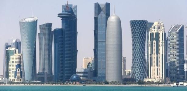 Doha, capital do Catar, sofre as conseqüências do bloqueio de países árabes ao país