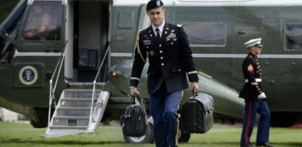 A maleta nuclear viaja a todos os lugares com o presidente dos Estados Unidos  - Getty Images