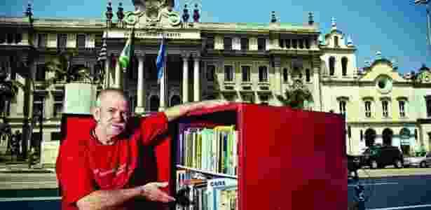 Robson Mendonça, presidente da Associação de Moradores de Rua do Estado de SP - Arquivo pessoal - Arquivo pessoal