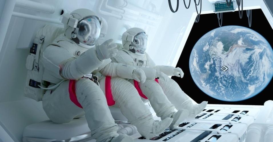 Transporte de alimentos costuma ser um desafio em missões espaciais