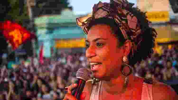 A vereadora Marielle Franco foi assassinada em março de 2018, junto ao motorista Anderson Gomes - Divulgação/PSOL