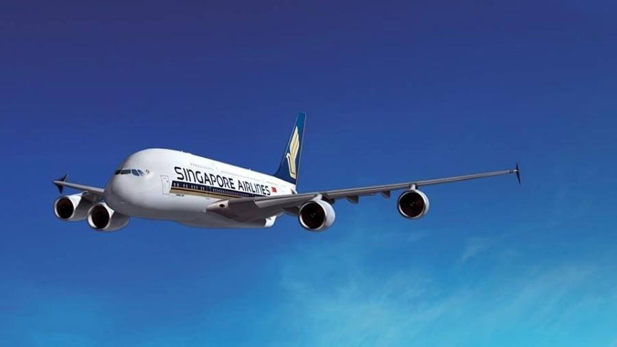 A Singapore Airlines relançou o voo mais longo do mundo, com 19h de duração - Divulgação