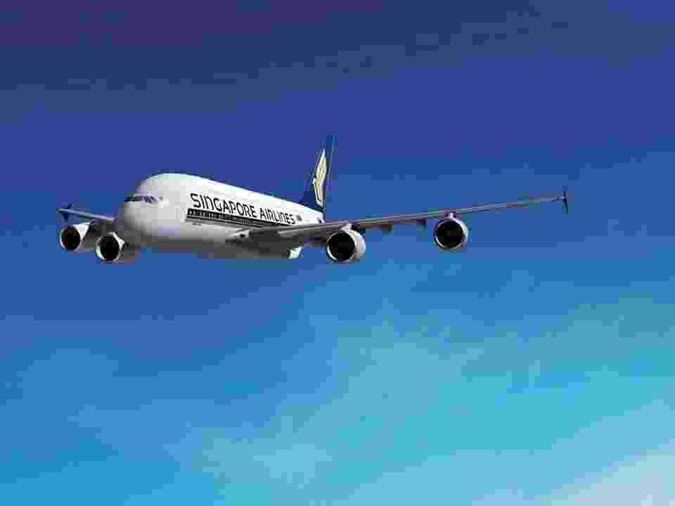 Singapore Airlines - Divulgação