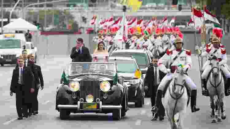 Rolls-Royce Silver Wraith Bolsonaro Presidência da República posse 1 janeiro 2019 - Andressa Anholete/Framephoto/Estadão Conteúdo - Andressa Anholete/Framephoto/Estadão Conteúdo