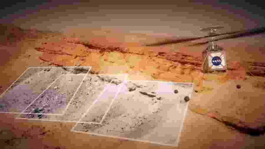 Helicóptero da Nasa será enviado com a missão que explorará Marte e buscará vida fora da Terra - Reprodução/YouTube Nasa Jet Propulsion Laboratory