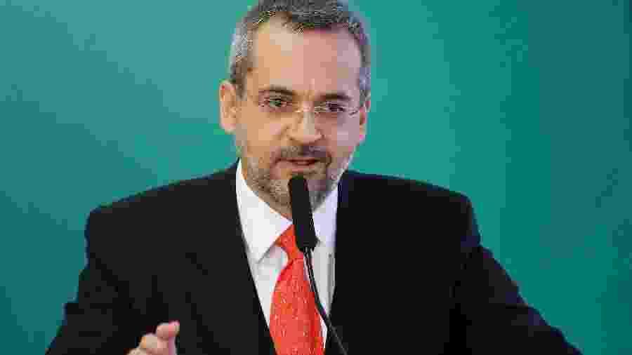 Ministro da Educação, Abraham Weintraub - Adriano Machado/Reuters