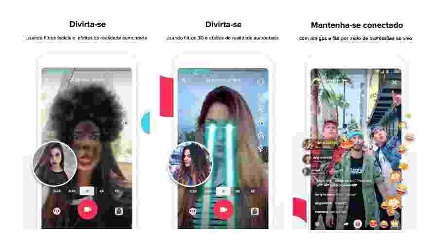 TikTok é o app mais usado pelos jovens - Divulgação