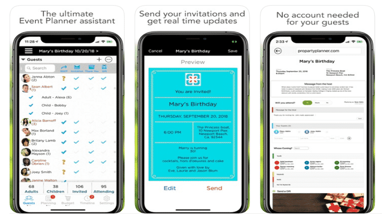 Pro Party Planner: Aplicativos para produtores de eventos - Reprodução - Reprodução
