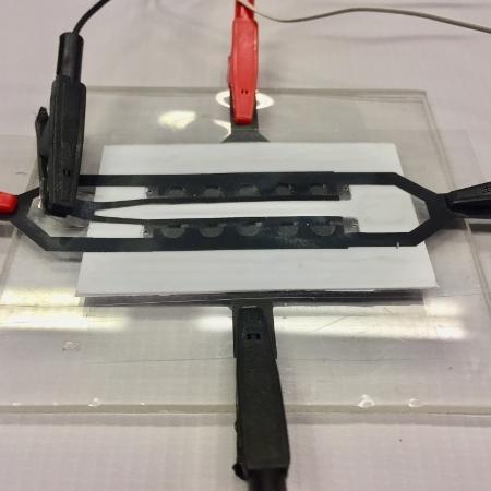 Dispositivo identificará partes do RNA viral na saliva de indivíduos infectados. Grupo tem ainda outras iniciativas, como o desenvolvimento de sensores para monitorar a presença do patógeno no ar e em sistemas de esgoto  - UFSCar/Divulgação