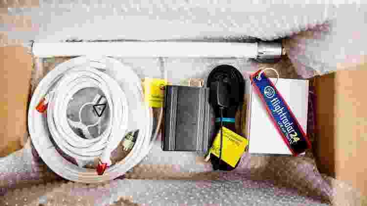 Kit de receptor ADS-B do FlightRadar24 - Divulgação - Divulgação