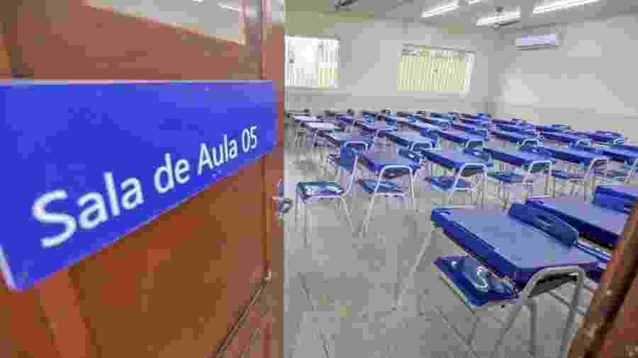Pandemia faz matrículas em escolas públicas crescerem - Divulgação/Governo do Pará