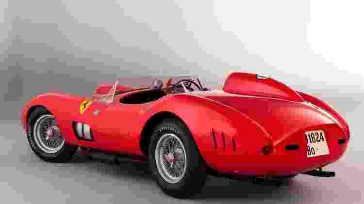 Ferrari 335 Sport Scaglietti 1957 - Artcurial / Divulgação  - Artcurial / Divulgação