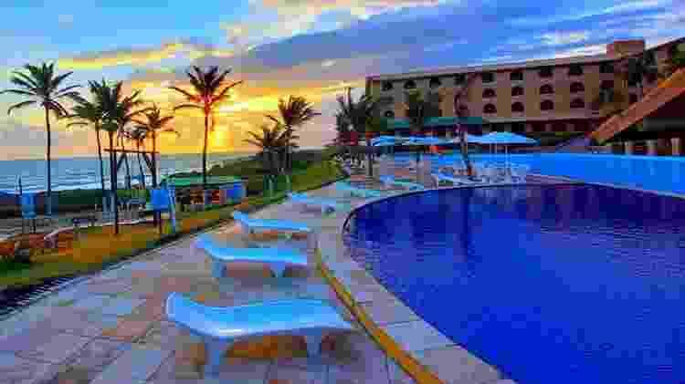 Hotel Coliseum Beach Resort, localizado na região central de Beberibe, CE - Divulgação - Divulgação