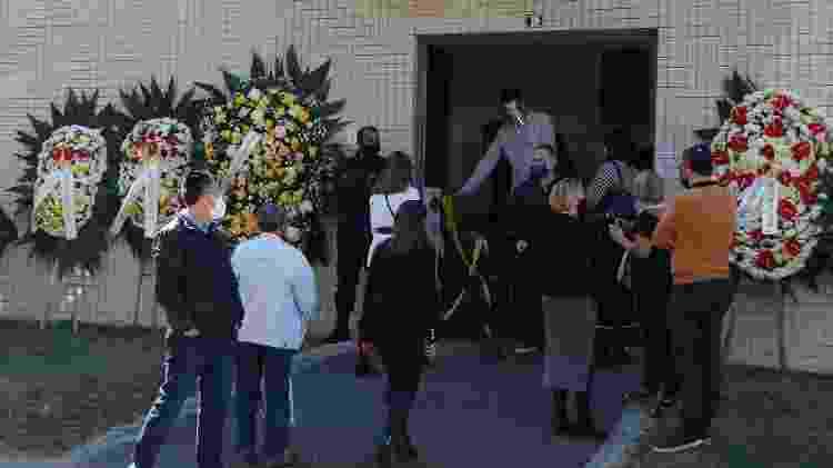 Jaime Lerner foi velado no Cemitério Israelita do Água Verde, na cidade de Curitiba - FRANKLIN DE FREITAS/ESTADÃO CONTEÚDO - FRANKLIN DE FREITAS/ESTADÃO CONTEÚDO