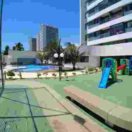 Área externa do apartamento do Gilberto - Âncora Imobiliária - Âncora Imobiliária